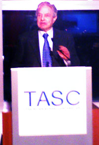 George Soros, speaking at The After School Corporation (TASC) event